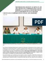 18:08:2019 A la baja los homicidios dolosos en Acapulco; se reduce un 17.52 por ciento en comparación con el año 2018_ SSP