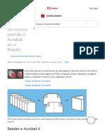Impressão de Livretos Usando o Acrobat Ou o Reader