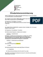 Kreditvereinbarung Herr ROBE STEFAN HEINRICH