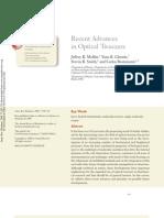 Recent Advances in Optical Tweezers
