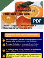 adubação fruticultura