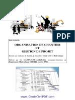 Polycopie Organisation Et Gestion de Projet(1)