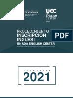 Instructivo Inscripción Estudiantes Inglés I UEC_segundo Semestre 2021_OFICIAL
