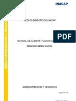 MANUAL DE ADMINISTRACIÓN GENERAL
