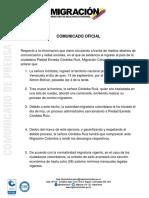 Colombia sancionará a Piedad Córdoba por ingresar al país de manera irregular desde Venezuela (Comunicado)