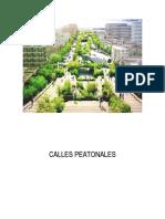 _ Calles Peatonales