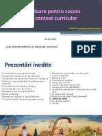 EVALUARE pentru succes in context curricular seminar pentru cadrele didactice universitare