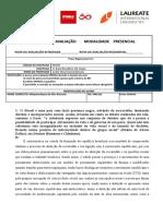 Prova de Rep Velha 21a - Melquisedeque (1)