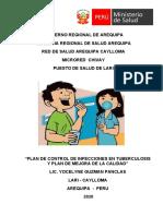 PLAN INFECCIONES TBC