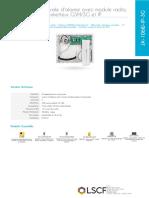 CENTRALE D'ALARME JA-106W-IP-3G