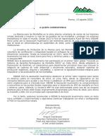 8.Carta alianza para las Montañas