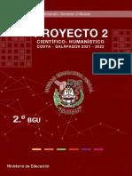 Proyecto 2 Cientifico Humanistico Semana 1 2bgu