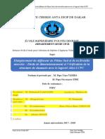 MEMOIRE Etude de Dimensionnement Et Vérification de La Structure de Chaussée Avec Le Logiciel Alizé-LCPC