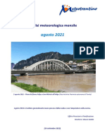 Analisi Meteorologica Agosto2021