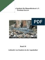 Zander Binnenfischerei - Band 18 Aufzucht von Zandern in der Aquakultur