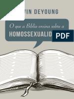O Que a Bíblia Ensina a Respeito Do Homossexualidade
