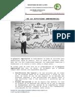 SESION N°02-PROYECTO DE LA ACTIVIDAD EMPRESARIAL SESION N°02, 03, 04