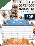 Código de Cores Resistores