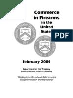 Commerce in Firearms 2000