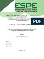 DEPARTAMENTO DE CIENCIAS DE LA TIERRA Y LA CONSTRUCCIÓN