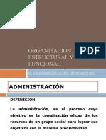 Organizacion Estructural y Funcional 2019