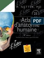 Atlas d Anatomie Humaine 1 Fr Frank h Netter