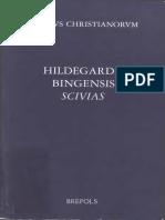 (Corpus Christianorum Scholars Version (CCSV)) Adelgundis Führkötter, Angela Carlevaris - Hildegard Von Bingen, Hildegardis Scivias-Brepols (2003)