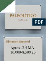 PPT Clase 3 - Paleolitico