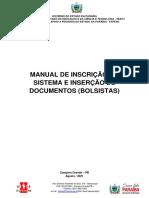 MANUAL DE INSCRIÇÃO E INSERÇÃO DE DOCUMENTOS- MEST