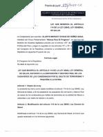 Proyecto de ley de Gladys Echaíz (APP)
