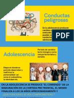 CONDUCTAS PELIGROSAS EN  LA ADOLESCENCIA (1)