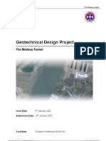 Geotechnical Design Project