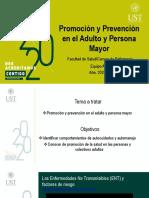 4. Promoción y prevención en el adulto y adulto mayor