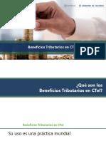 Sesión 3 Beneficios tributarios CTI