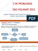 PROBLEMAS DE ARITMÉTICA HOLAMAT 2021