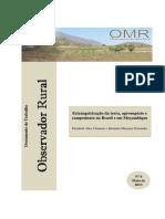 CLAMENTS e FERNADES - Estrangeirizacao Das Terras Agronegocio e Campesinato No Brasil e Mocambique
