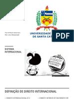 DIP I - SISTEMA INTERNACIONAL