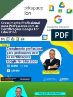 Crescimento Profissional para Professores com as Certificações Google for Education