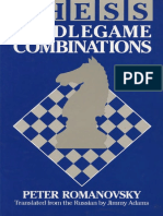 1991 Chess Middlegame Combinations Peter Romanovsky