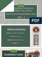 Reciclaje - 3R - Bellido Redolfo Johan Cristian - Defensa Nacional