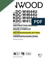 Kenwood KDC W4044UA Bedienungsanleitung Ad4f4a
