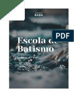 Apostila Escola de Batismo 2021