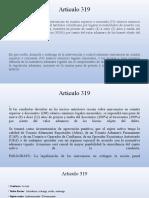 Articulo 319
