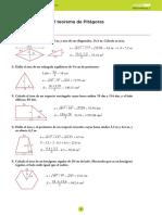 ejercicios de pitagoras_SOLUCIONES
