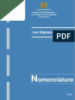 Les Signaux Routiers - Nomenclature