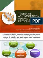 Taller de Administracion Segura de Medicamentos 2018 Ufien Actualizado Julio 2018