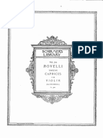 Rovelli - 12 Caprices Op3