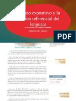El Texto Expositivo y La Función Referencial Del Lenguaje