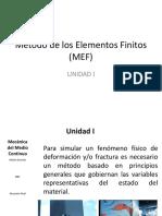 Método de los Elementos Finitos 2