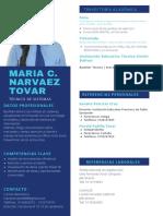 HOJA DE VIDA MARIA DEL CARMEN NARVAEZ TOVAR1